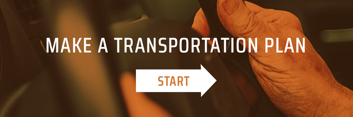 Make a transportation plan
